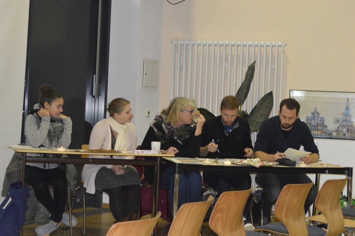 Die Jury beim Vorlesewettbewerb 2016