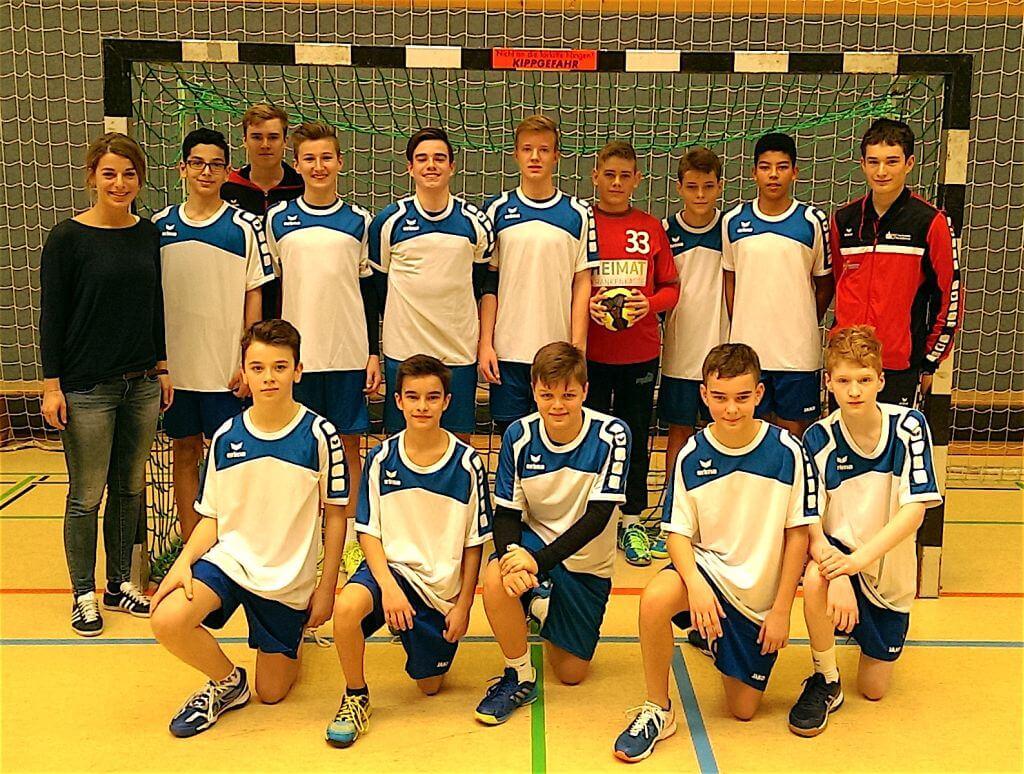 Handball WKIII Schlossgymnasium